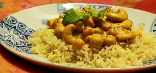 Indyjska Ciecierzyca wSosie Curry fot.2