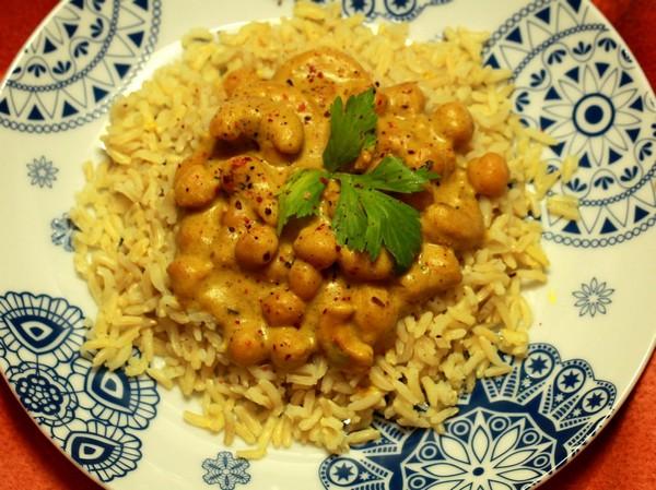Indyjska Ciecierzyca wSosie Curry fot.3