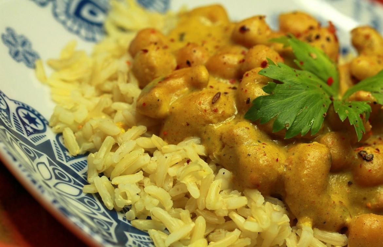 Indyjska Ciecierzyca w Sosie Curry fot. 1