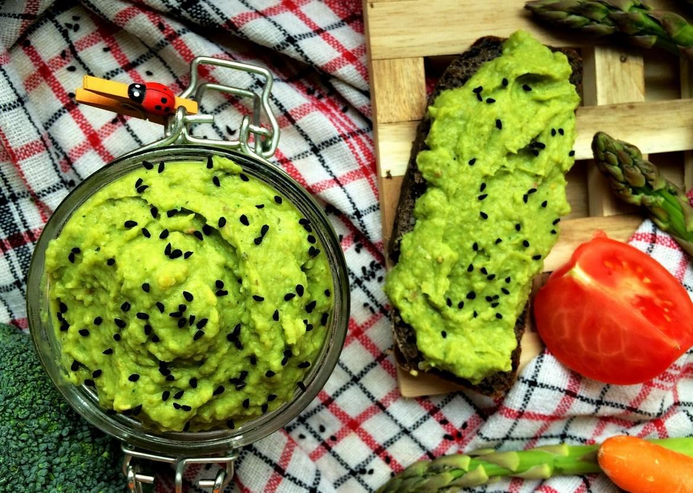 Pasta z Zielonego Groszku i Brokuła fot. 1