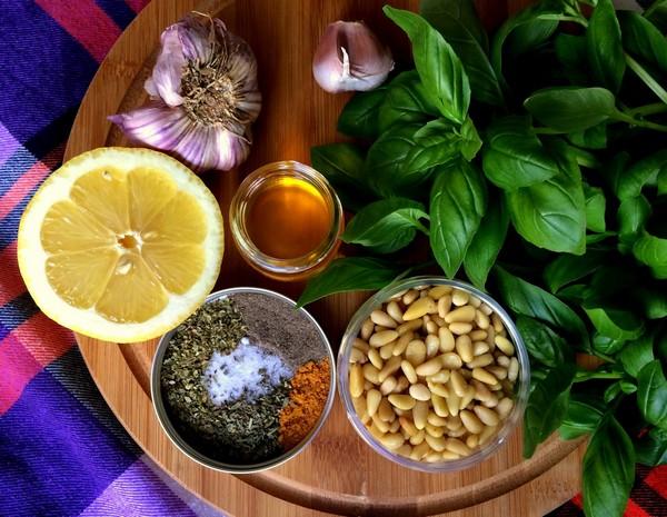 Bazyliowe Pesto zOrzeszkami Pini fot.2