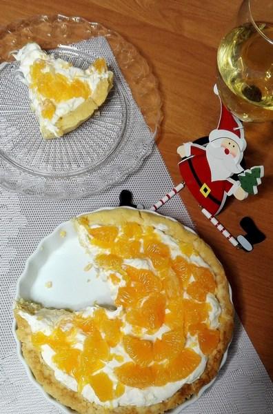 Bezglutenowa Tarta zMandarynkami iPomarańczami *z serem kozim fot 2