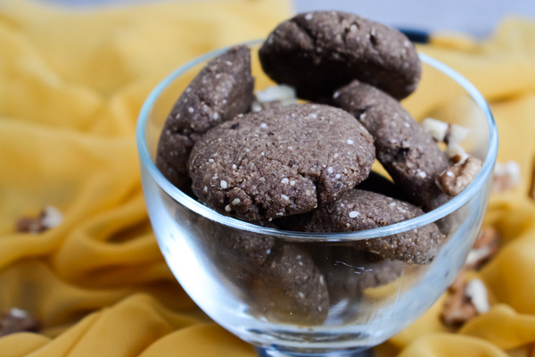 Ciasteczka orzechowe - Bezglutenu, mleka ijaj. Poradnia dietetyczna online Just Food Therapy. Dietetyk kliniczny Justyna Lenda. Fot.2