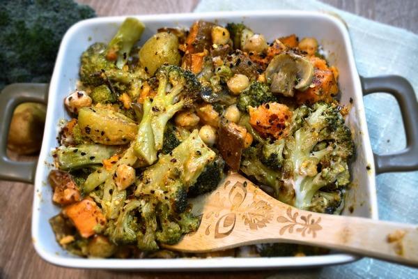 Pieczone warzywa wkremowym sosie fot 4, Justyna Lenda dietetyk kliniczny, poradnia dietetyczna Just Foos Therapy