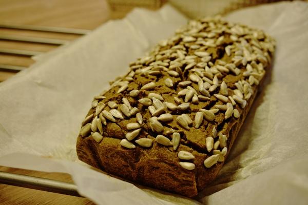 Bezglutenowy chleb wegański, Justyna Krzemińska (Lenda), dietetyk kliniczny online, Just Food Therapy, poradnia dietetyczna fot 2